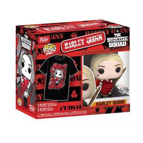 Figurine en Harley Quinn POP! and Tee (M) par Funko POP! Suicide Squade