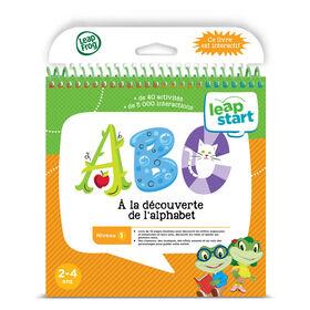 LeapFrog LeapStart Les adventures de l'alphabet - Livre d'activité - Édition française