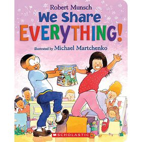 We Share Everything! Board Book - Édition anglaise