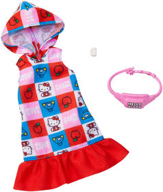 Barbie Hello Kitty Hooded Dress Fashion Pack