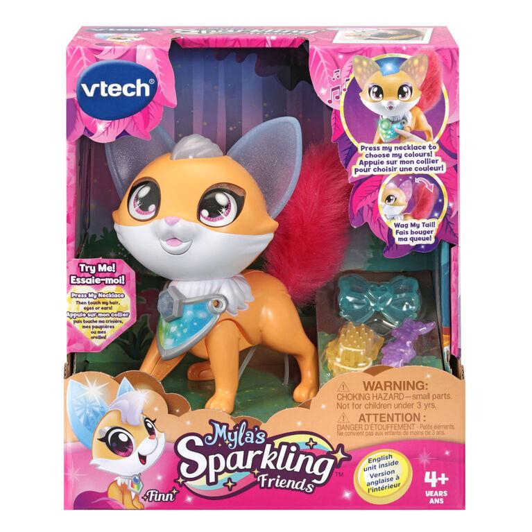 VTech Myla's Sparkling Friends Finn the Fox - English Edition