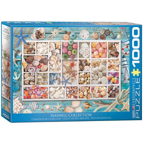 Eurographics Seashell Collection 1000 piece puzzle