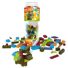 Mega Construx Mega Construx Wonder Builders 140 Piece Building Tube