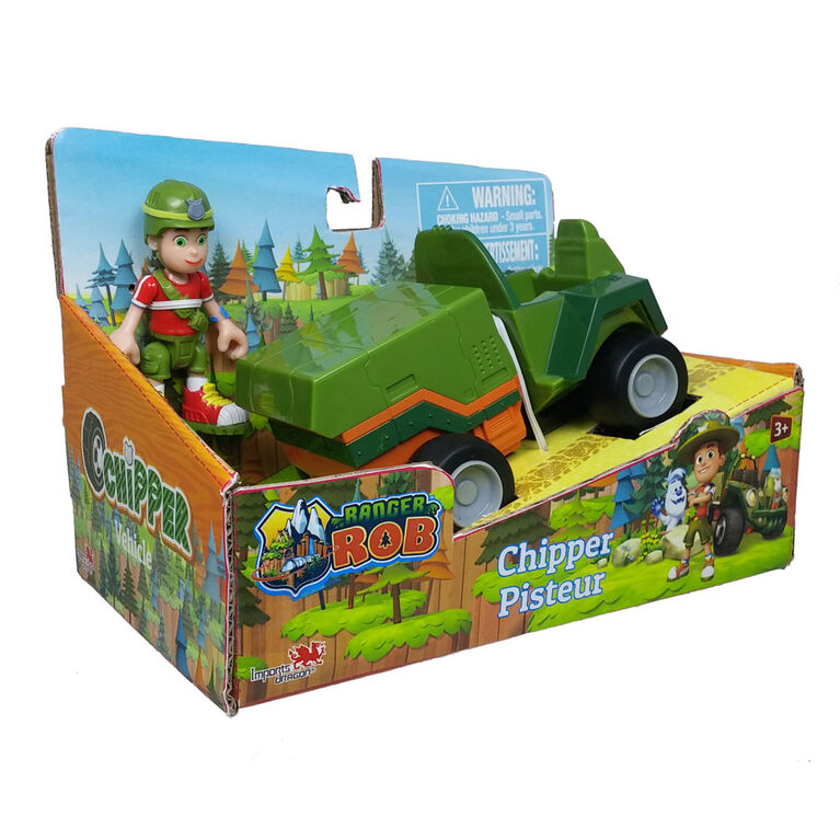 Ranger Rob - Ranger Rob and Chipper Vehicle