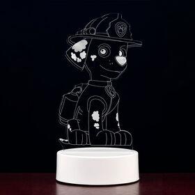 PAW Patrol 3D LED Night Light Marshall