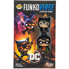 POP! Funkoverse DC Comics 101 Strategy Game Expandalone - English Edition