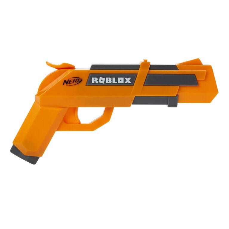Nerf Roblox Jailbreak: Armory, Includes 2 Hammer-Action Blasters, 10 Nerf Elite Darts