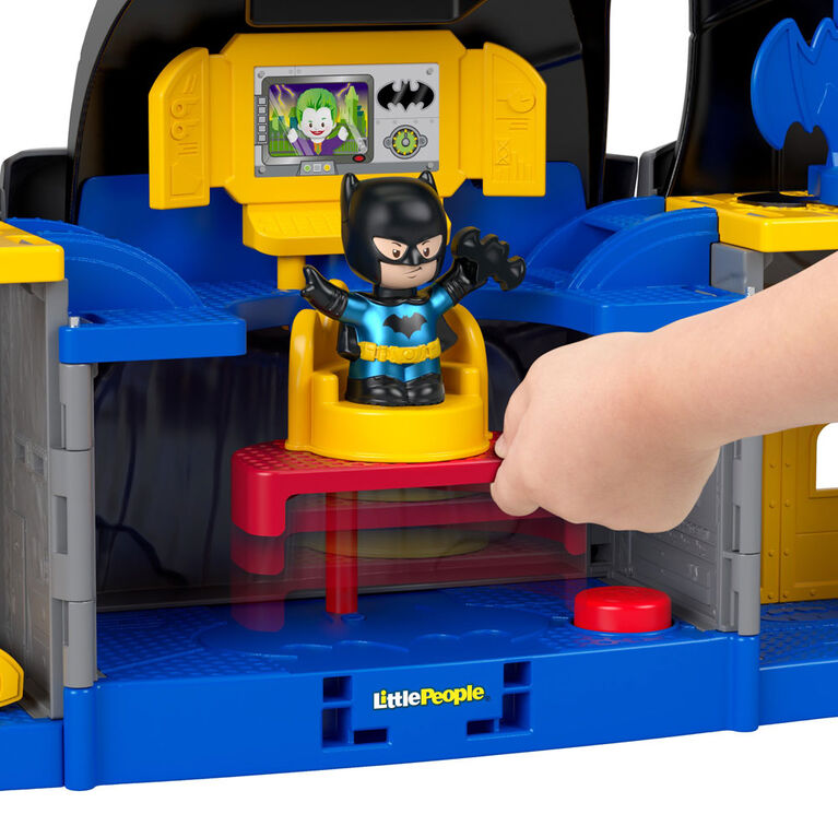 Fisher-Price Little People DC Super Friends Batcave