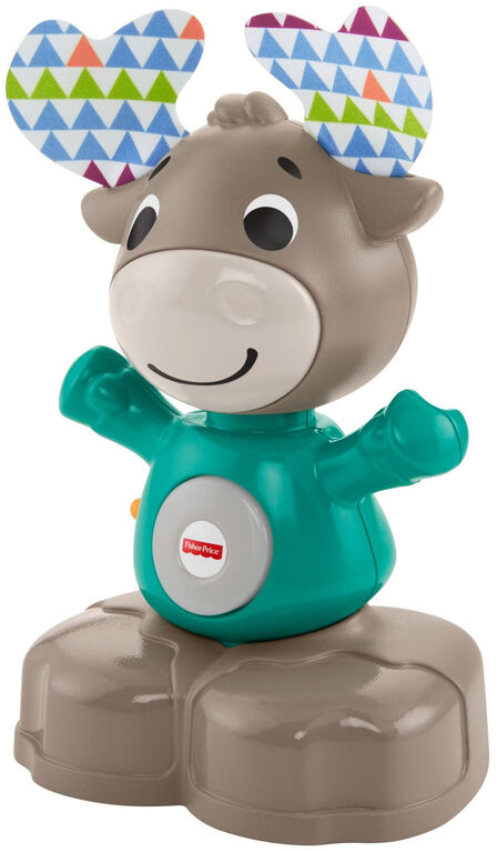 Fisher-Price Linkimals Musical Moose - French Edition