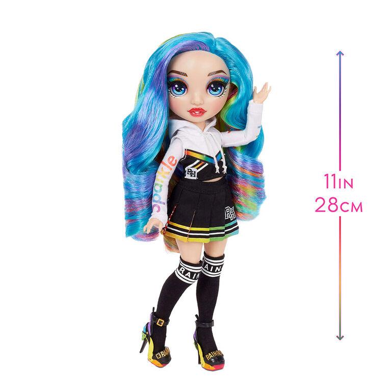 Rainbow High Amaya Raine - Poupée-mannequin arc-en-ciel avec 2 tenues complètes à agencer et associer