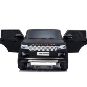 KidsVip 2x12V Kids & Toddlers Range Rover 4WD Ride on car w/Remote Control - Matte Black