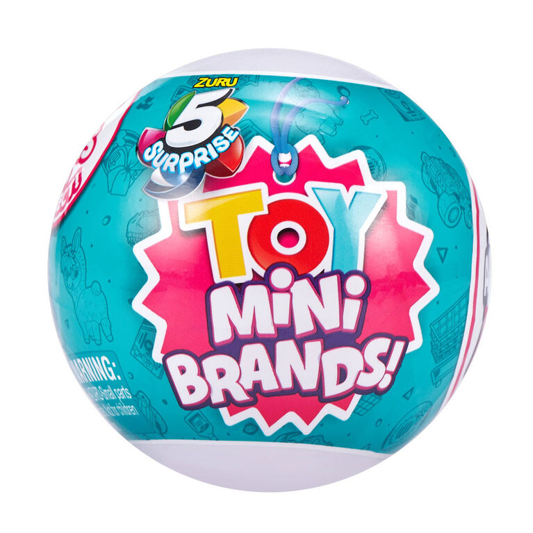 5 jouets surprises Mini Brands Capsule à collectionner