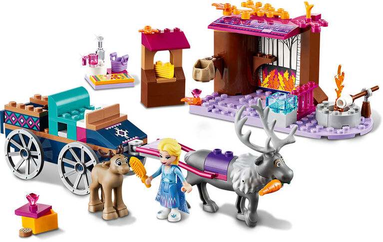 LEGO Disney Princess  Elsa's Wagon Adventure 41166