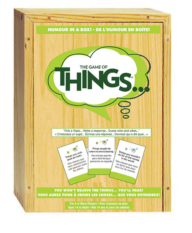 Coffret The Game of Things