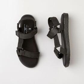 odyssey sandal, size 11 - black