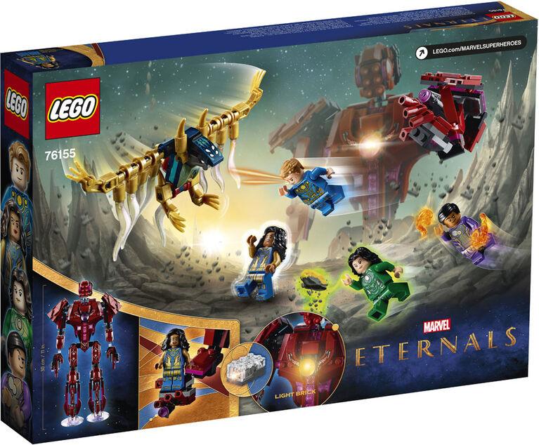 LEGO Super Heroes Dans l'ombre d'Arishem 76155
