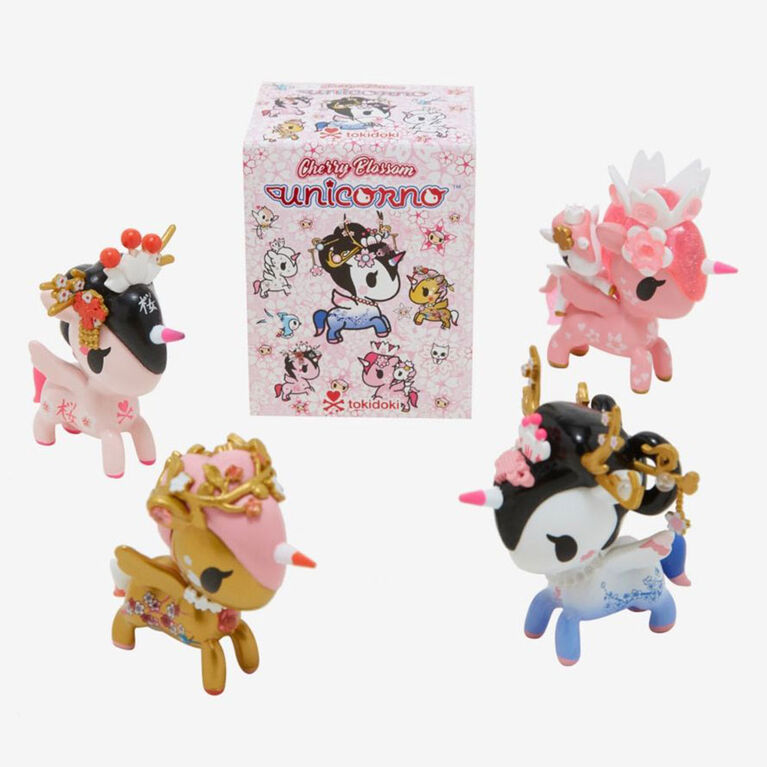 tokidoki Cherry Blossom Unicorno Collectible Vinyl