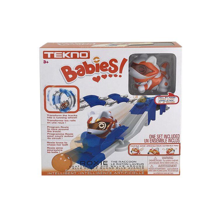 Tekno Babies - Coffret Roxie le raton laveur. - Notre Exclusivité