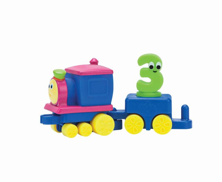 Bob le train autour de la ville