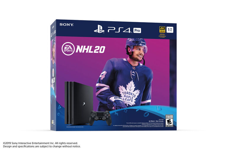 PlayStation 4 1TB Hardware - NHL 20.