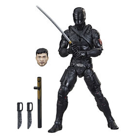 PRE-ORDER, SHIPS AUG 9, 2021 - G.I. Joe Classified Series Snake Eyes: G.I. Joe Origins Snake Eyes Action Figure