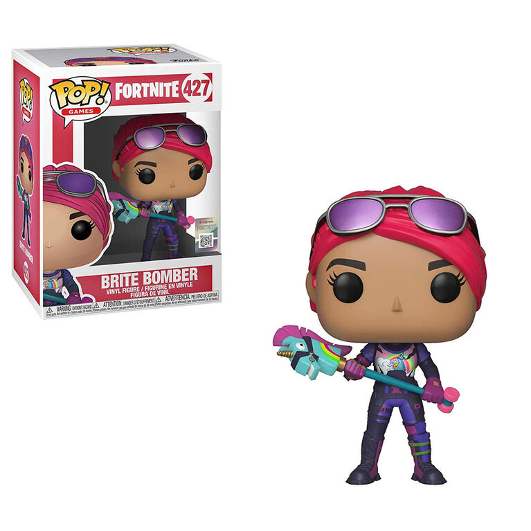 Funko Pop! Games: Fortnite - Brite Bomber Vinyl Figure