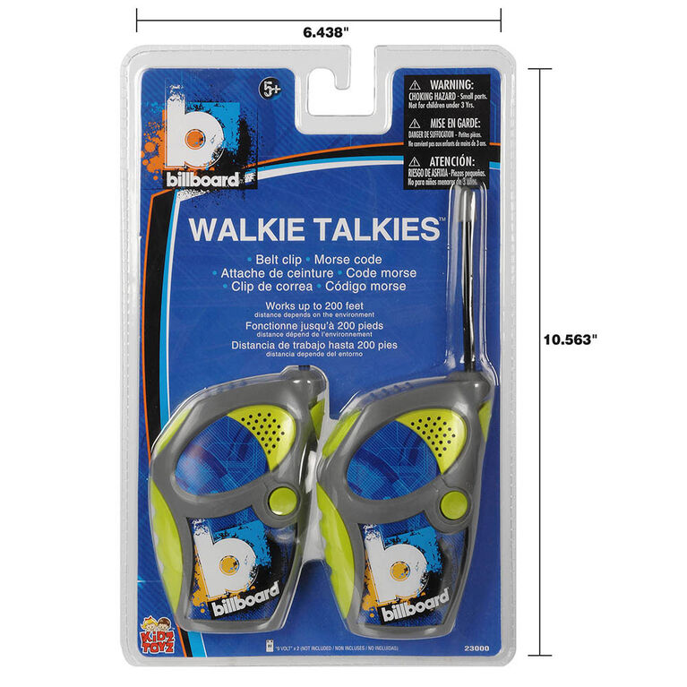 Billboard Sports Walkie Talkies