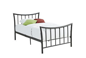 DHP - Bali Twin Metal Bed - Bronze