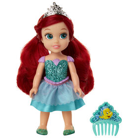 Petite Ariel with Glittered Hard Bodice + Comb