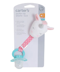 Carter's - Unicorn Pacifier Clip