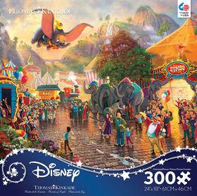 Ceaco: Thomas Kinkade Disney - Dumbo - 300 Piece Puzzle