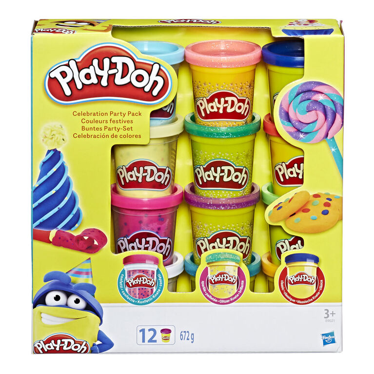 Play-Doh Super Color Pack of 12 Cans - R Exclusive