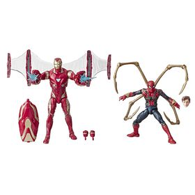 Marvel Legends Series Avengers: Infinity War - Pack de 2 figurines Iron Man Mark 50 et Iron Spider.