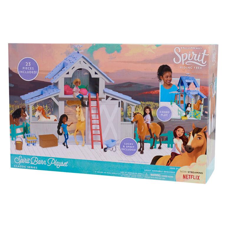 Spirit Barn Playset