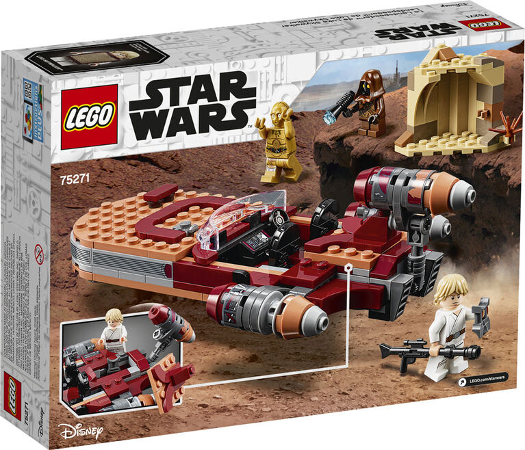 LEGO Star Wars TM Le Landspeeder de Luke Skywalker 75271