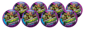 8 Pack Playball with Pump 10 inch Teenage Mutant Ninja Turtles