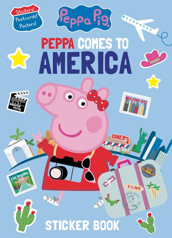 Spring 2021 Peppa Pig Sticker Book (Peppa Pig) - English Edition
