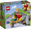 LEGO Minecraft Le récif corallien 21164