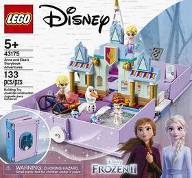 LEGO Disney Princess Les aventures d'Anna et Elsa dans un liv 43175