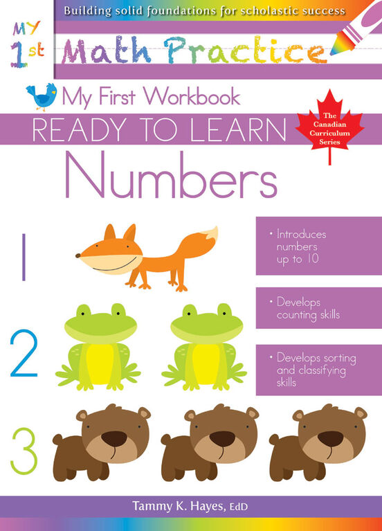My First Numbers Workbook - Édition anglaise