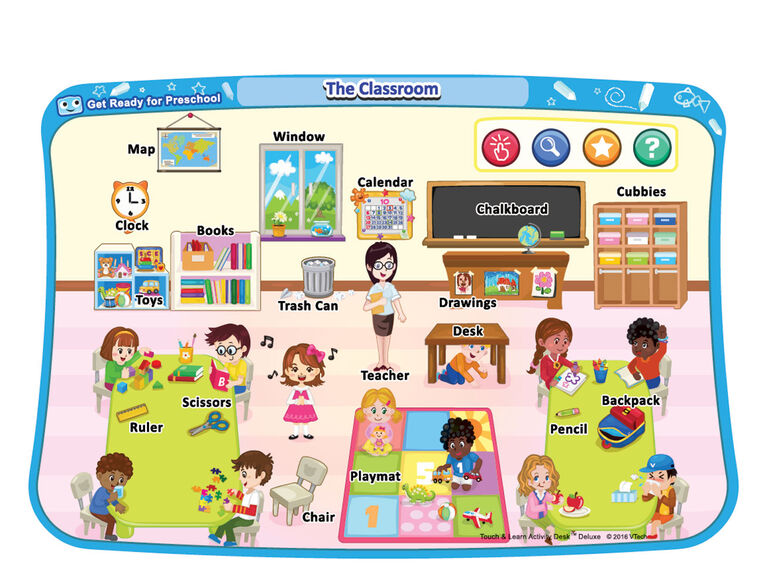 Touch & Learn Activity Desk Deluxe - Get Ready for Preschool - English Edition