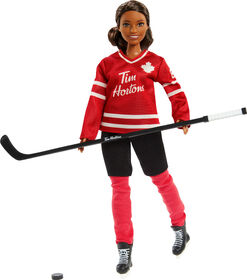 Tim Hortons Collectible Barbie Doll in Hockey Uniform - PRE-ORDER, SHIPS Nov 12, 2020