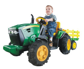 Peg Perego - John Deere Ground Force Tractor with Trailer