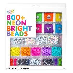 Kit de perles lumineuses au néon 800+
