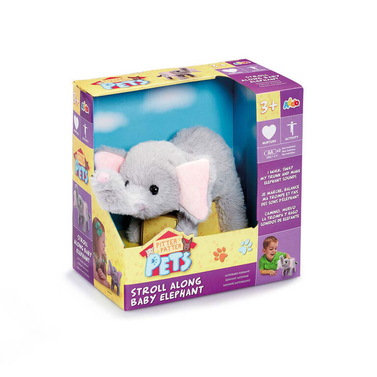 Pitter Patter Pets  - Coffret Stroll Along Elephant