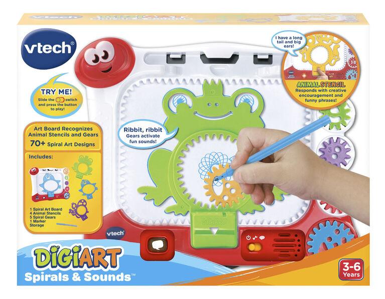 VTech® DigiArt Spirals & Sounds™ - English Edition