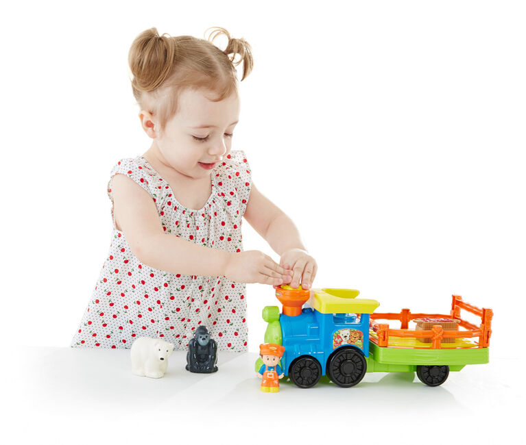Fisher-Price Little People Choo-Choo Zoo Train - English Edition
