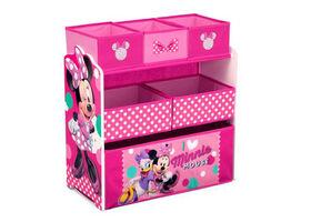 Disney Minnie Mouse 6-Bin Toy Organizer