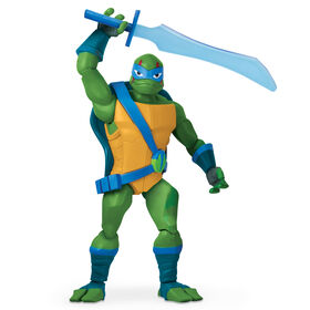 Rise of the Teenage Mutant Ninja Turtles - Figurine articulée géante Leonardo.