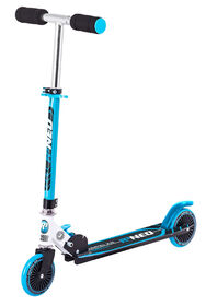 Rugged Racer R3 Neo 2 wheel Kick Scooter- Blue - English Edition